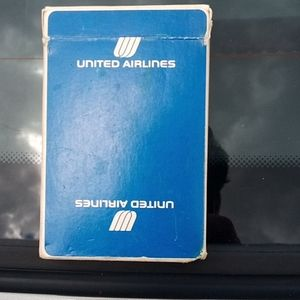 Vintage United Airlines Playing Cards COMPLETE